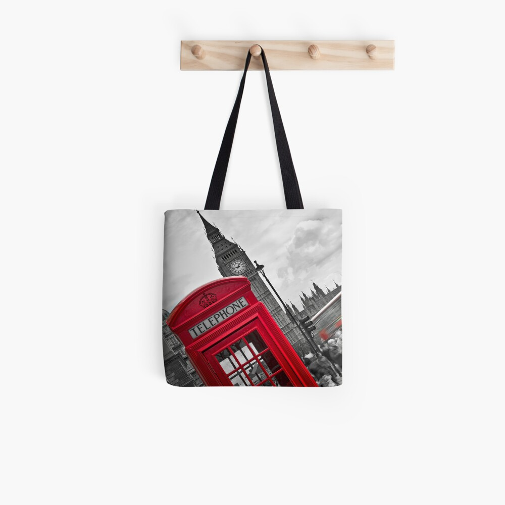 Telephone Booth in London Tote Bag