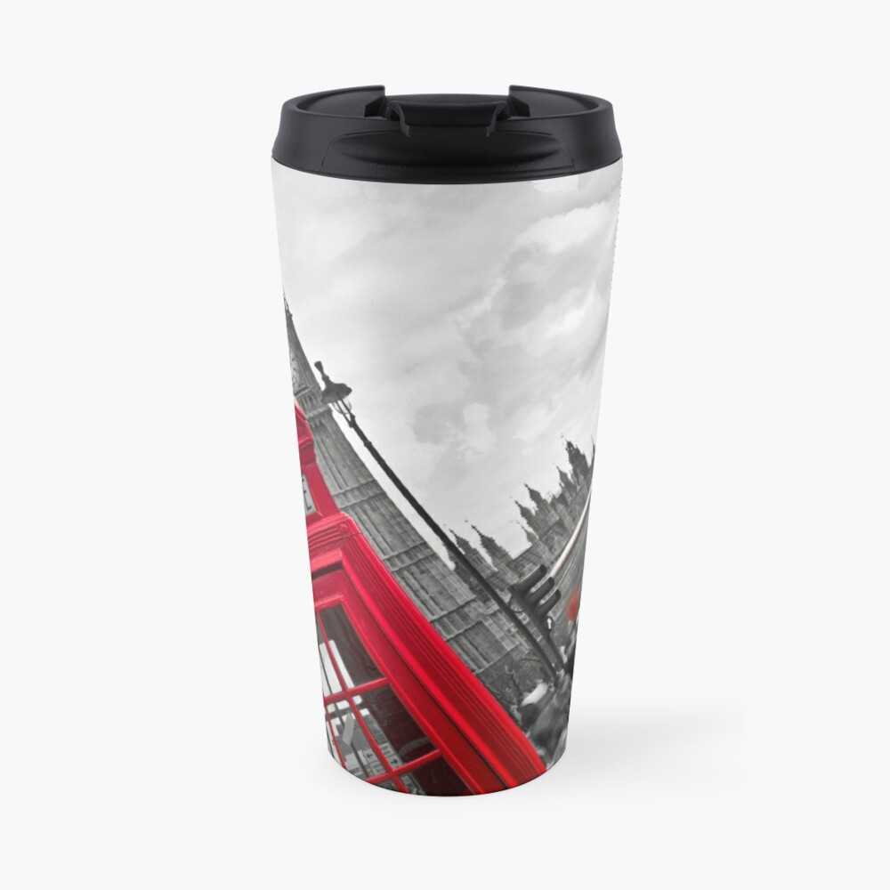 Telephone Booth in London Travel Mug
