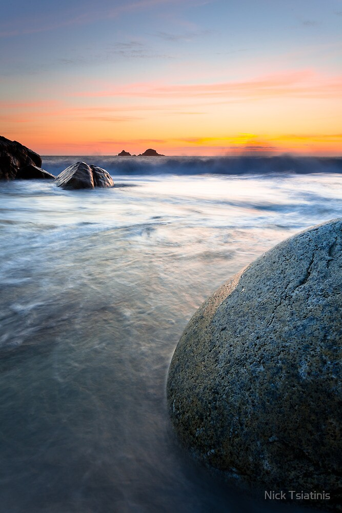 Stoned - Boulders at Porth Nanven by Nick Tsiatinis