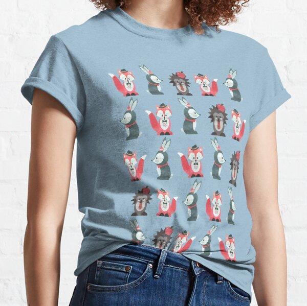 Dark Bunker Wallpaper Classic T-Shirt