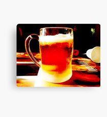 Beer! Canvas Print