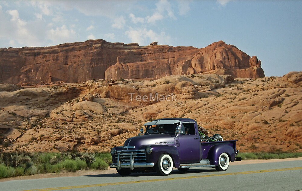 1953 Chevrolet Pickup Truck by TeeMack