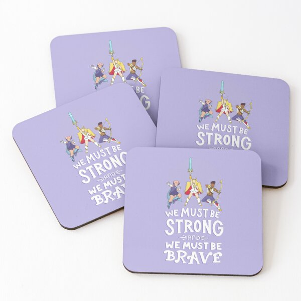 Best Friend Squad Theme Song Coasters (Set of 4)