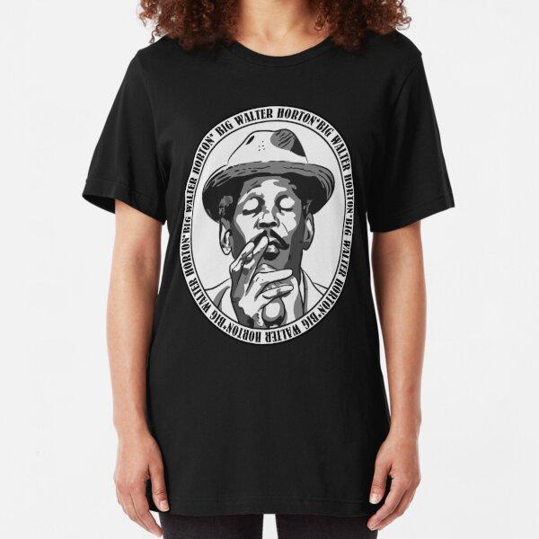 Big Walter Shakey Mumbles Horton Slim Fit T-Shirt
