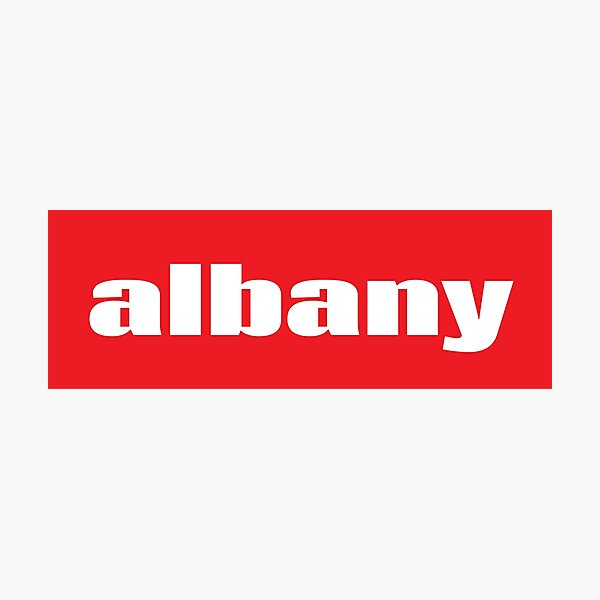Albany New York Raised Me Photographic Print