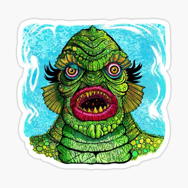 Swamp Creature Sticker