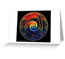 Mandala 3D Art2 Greeting Card