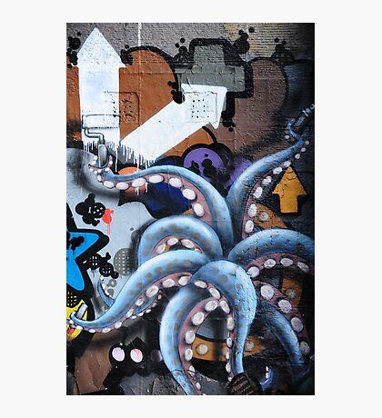 Graffiti art, Glasgow Photographic Print