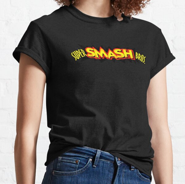 Super Smash Bros. 64 Logo Classic T-Shirt