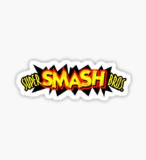 Super Smash Bros. 64 Logo Sticker