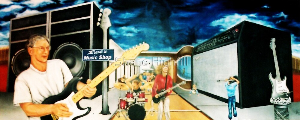 Rick's Music Shop by Shane Highfill