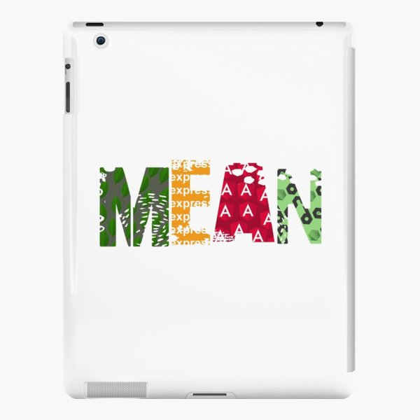 mean stack iPad Snap Case