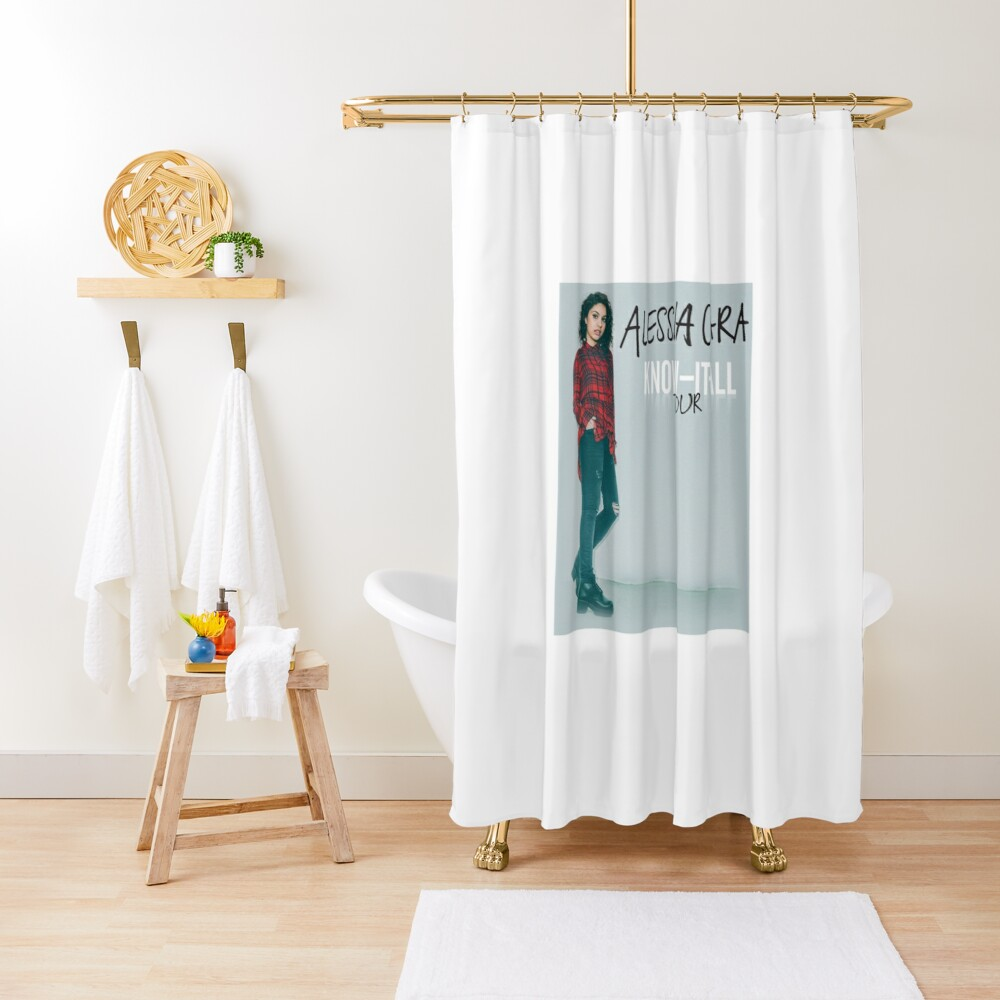 Alessia Cara Kiamaat Shower Curtain By Michtal Redbubble
