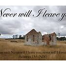 Never will I leave you by Catherine Davis