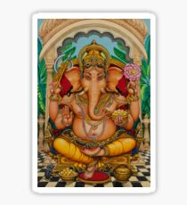 Ganapati darshan Sticker