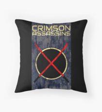 Crimson Assassins Floor Pillow