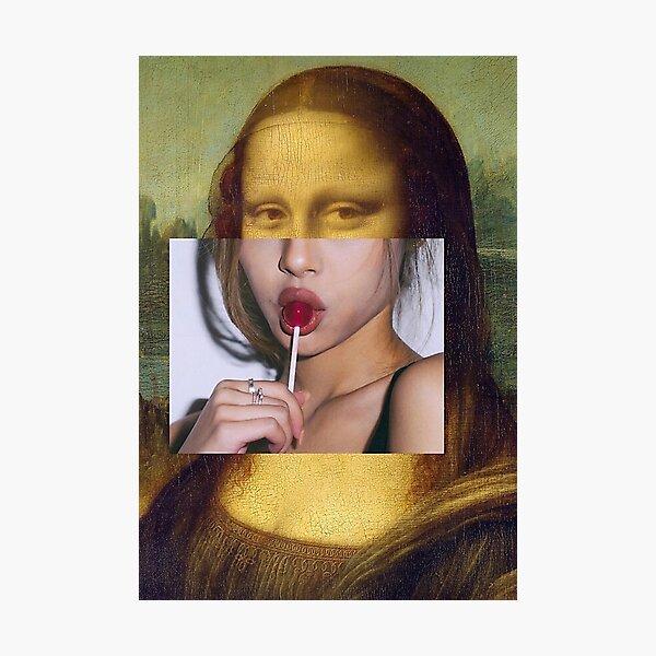 MonaLolly Pop  -    Photographic Print