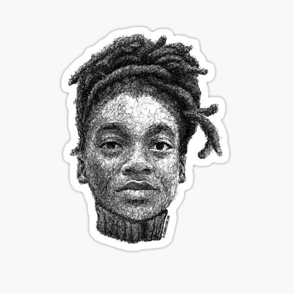 Scribbled Little Simz Sticker