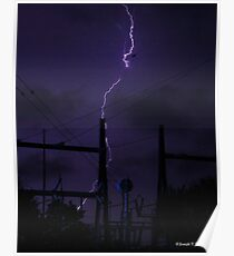 Power For the Substation Poster