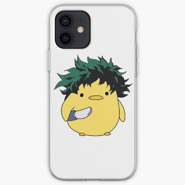 Izuku Midoriya Deku Knife Chick Meme iPhone Soft Case