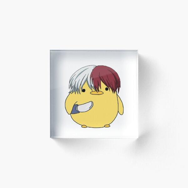 My Hero Academia Shoto Todoroki Knife Chick Meme Acrylic Block