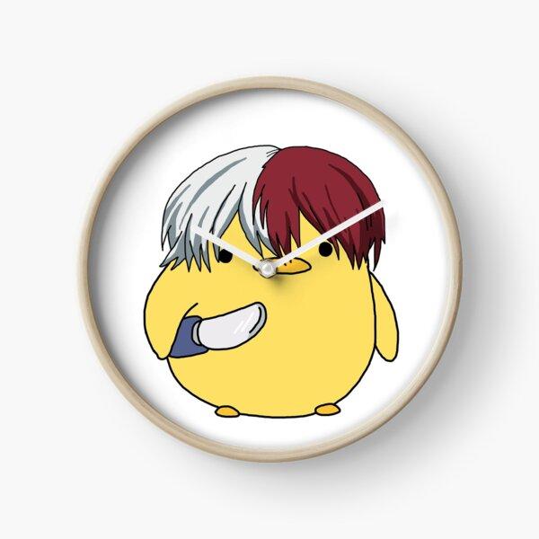 Mon héros Academia Shoto Todoroki Couteau Poussin Meme Horloge