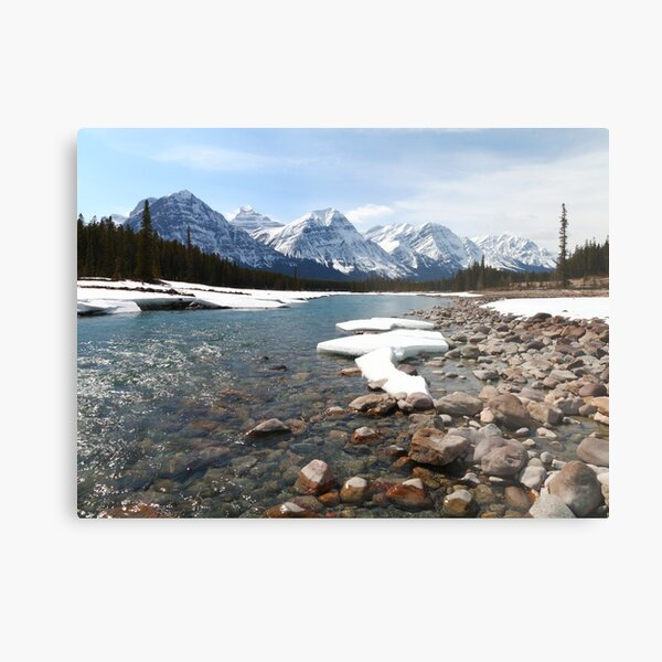 River in the mountains II Metal Print