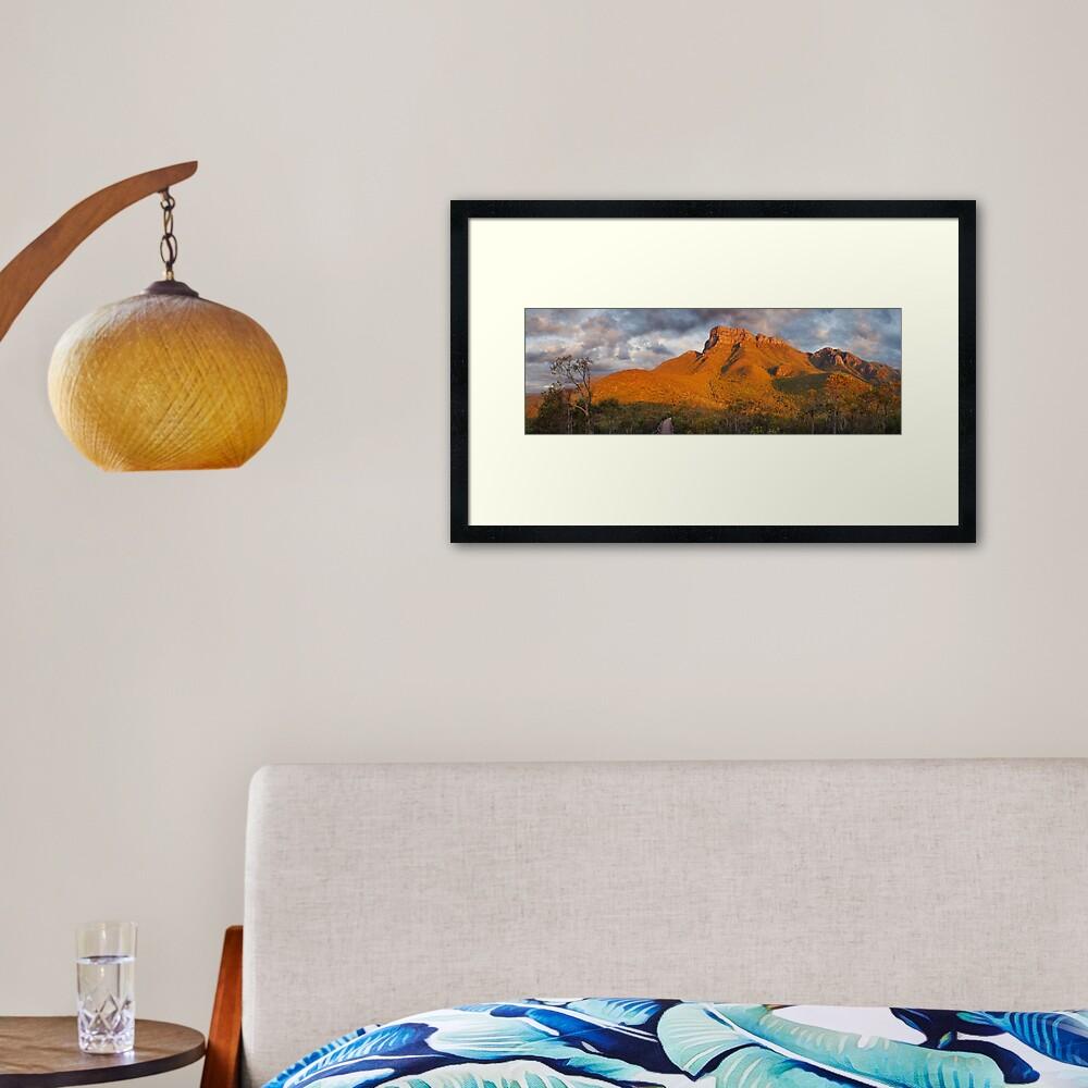 Bluff Knoll, Stirling Ranges, Western Australia Framed Art Print