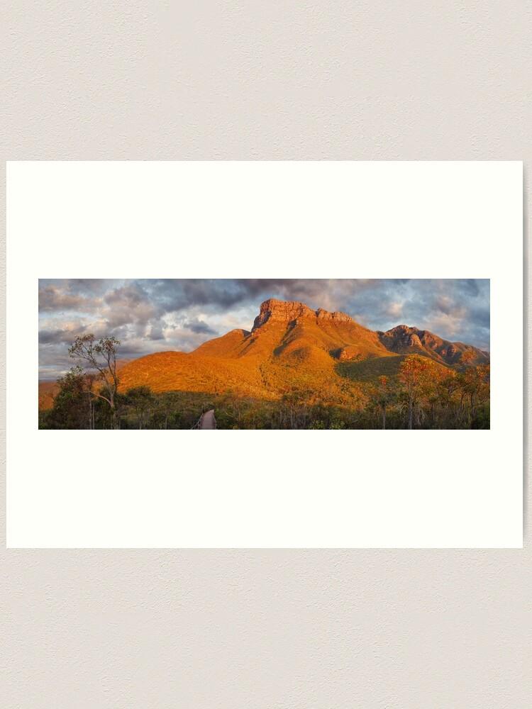 Alternate view of Bluff Knoll, Stirling Ranges, Western Australia Art Print