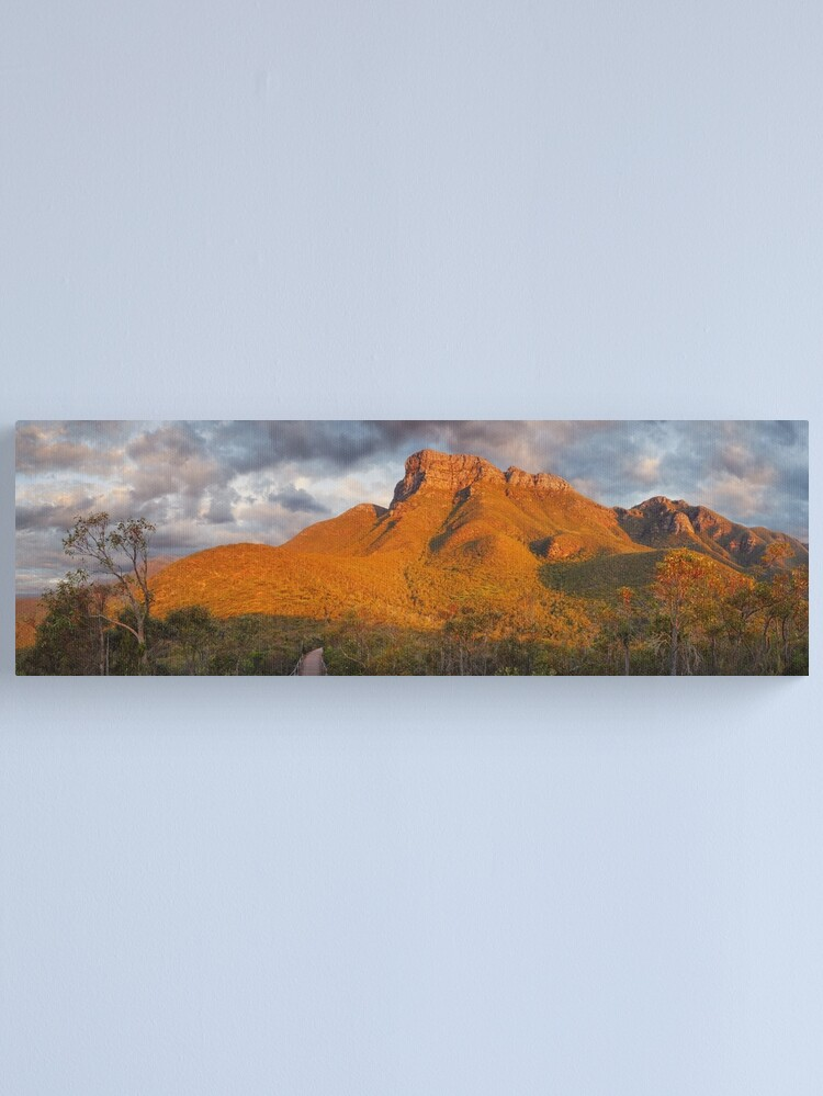 Alternate view of Bluff Knoll, Stirling Ranges, Western Australia Canvas Print