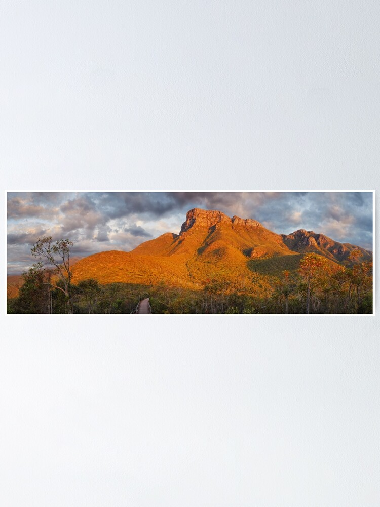 Alternate view of Bluff Knoll, Stirling Ranges, Western Australia Poster