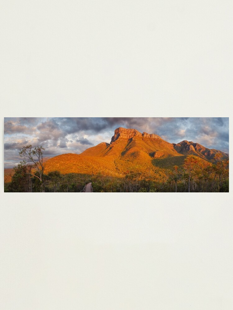 Alternate view of Bluff Knoll, Stirling Ranges, Western Australia Photographic Print