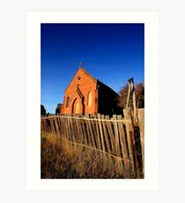 Forgotten and Abandoned - HILL END NSW Art Print