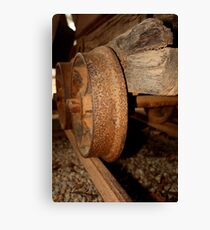 Gold Mining trolley - HILL END NSW Canvas Print