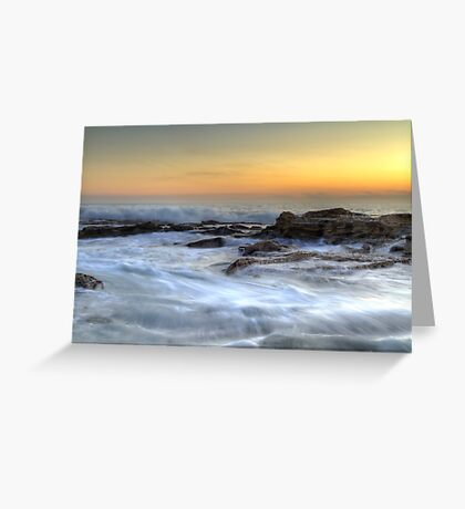 Stony Beach • Kilcunda • Victoria Greeting Card