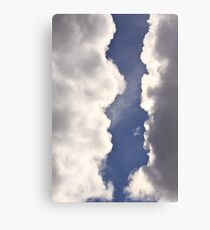 Heavy Clouds! Canvas Print