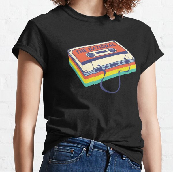 The National Band Logo Cassette Deck Classic T-Shirt