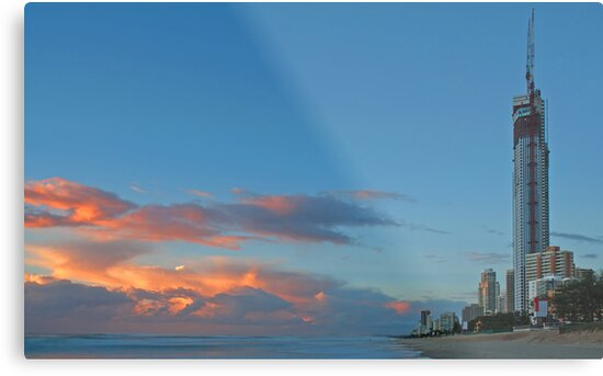 Gold Coast at dawn by Danny Waters