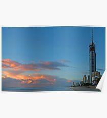 Gold Coast at dawn Poster