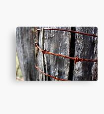 Rust in Peace - HILL END NSW Canvas Print