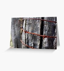 Rust in Peace - HILL END NSW Greeting Card