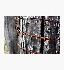 Rust in Peace - HILL END NSW Photographic Print