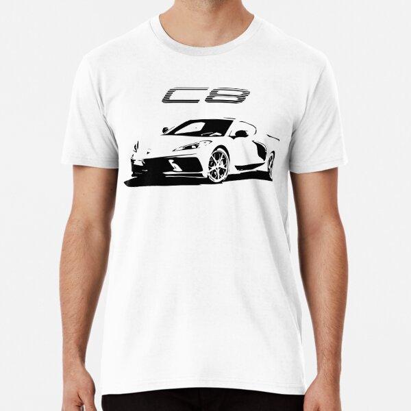 Corvette C8 2020 8ème génération T-shirt premium