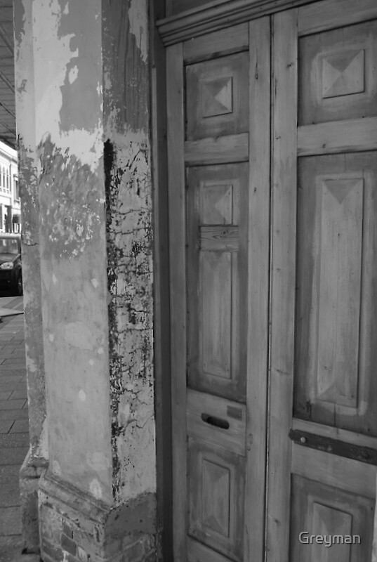 A door of history by Greyman