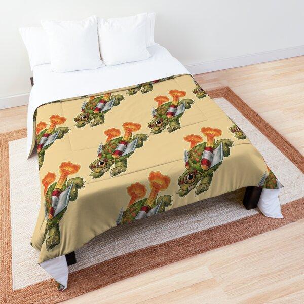 Rocket Tortoise! Comforter