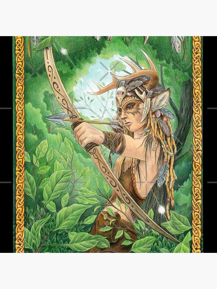 Silent Hunter by SharpTattoos