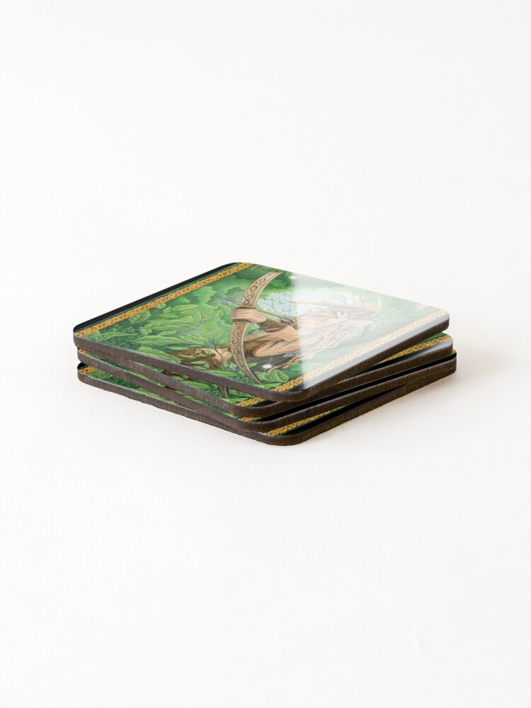 Alternate view of Silent Hunter Coasters (Set of 4)
