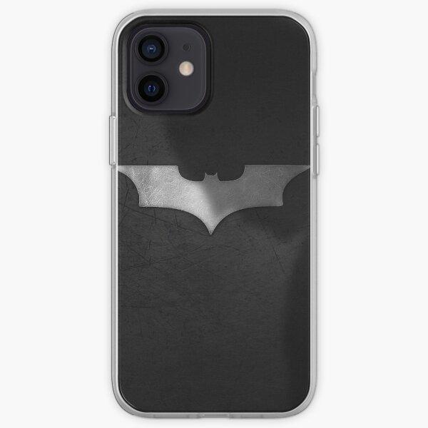 Chauve-souris sombre Coque souple iPhone