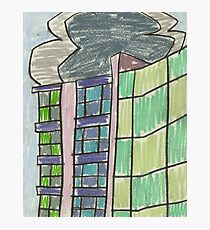 City XIII (2012) (Zenix, Erskineville) - drawing by artcollect Photographic Print