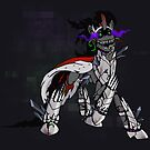 My Little Pony - MLP - FNAF - King Sombra Animatronic by Kaiserin